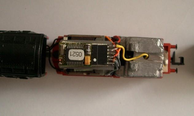 BR 01.1 Fertiger Aufbau
