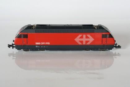 Seitenansicht RE 460 von MiniTrix