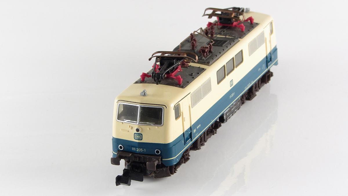 Frontpartie der BR 111 von Fleischmann