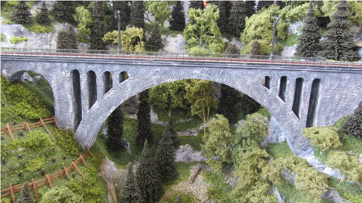 Nachbau der Arlbergbahn von Spur-N.at in Spur N