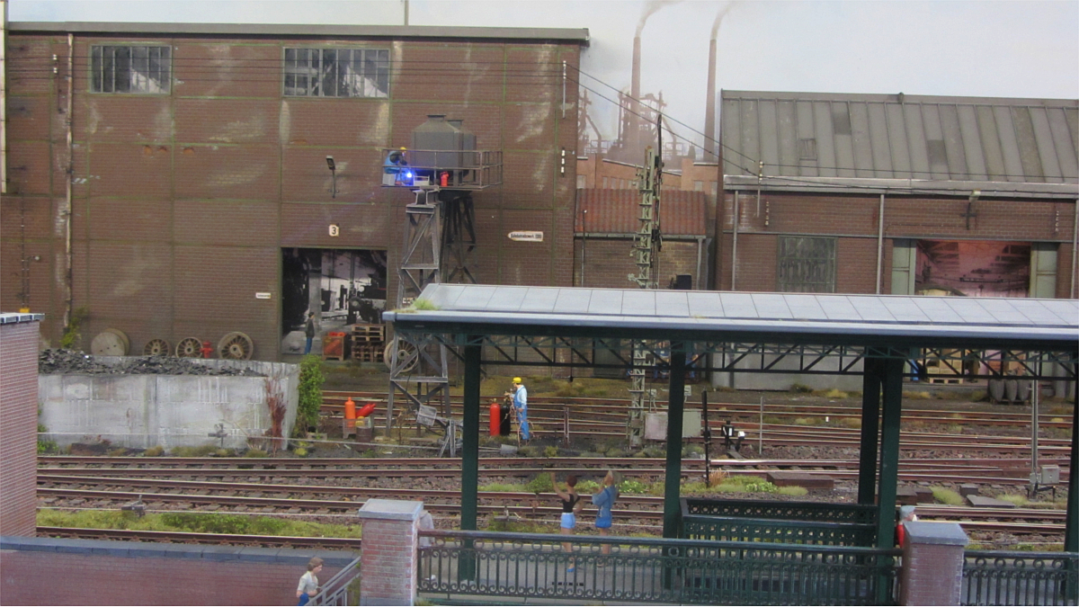 Anlage von Leuvense spooreen vrienden-LSV in Spur 1