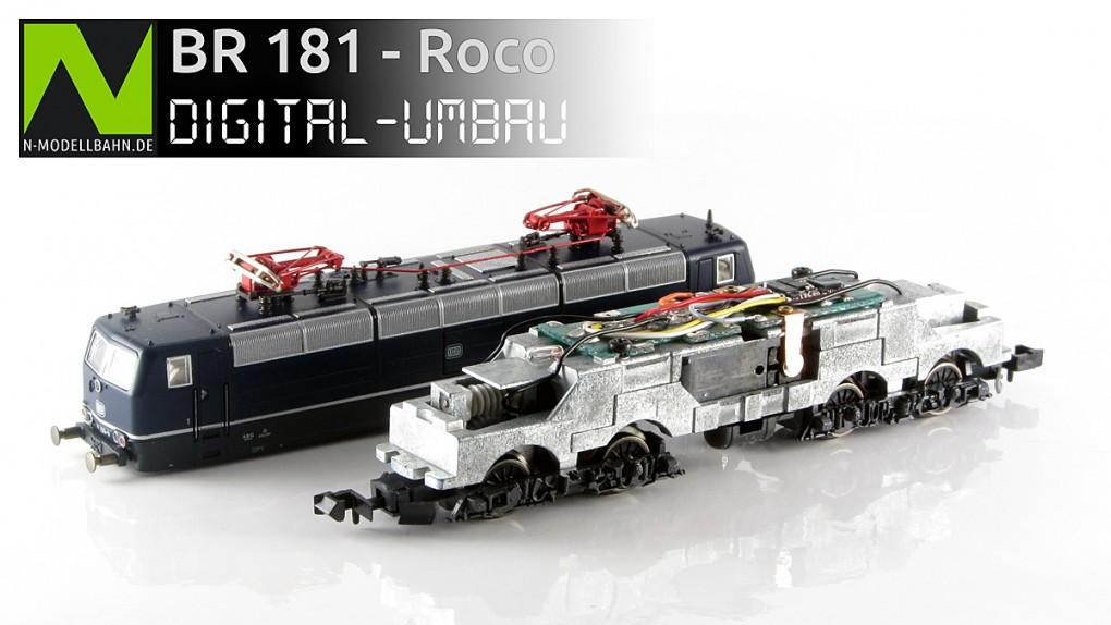 BR 181 von Roco (Art. Nr. 23330)