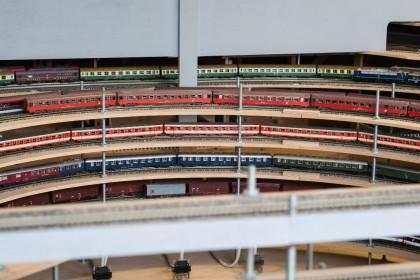 Gleiswendel 2m Durchmesser mit 30 Blockabschnitten