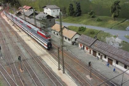 MEC Bregenz Albergbahn in Spur H0