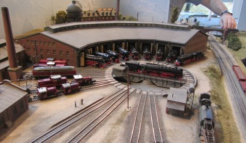 Modellbahngruppe N² Bahnbetriebswerk, Modellbahntage-Stetten