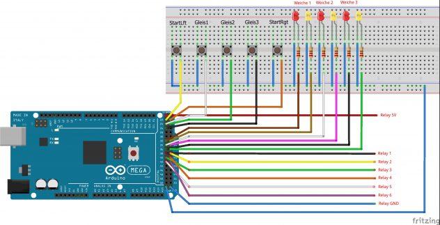 Arduino Weichensteuerung Sc