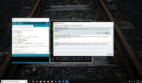 Arduinobibliothek Adafruit SSD1306 installieren