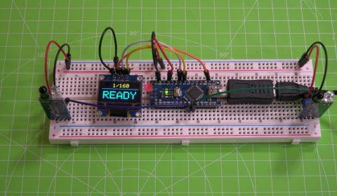 Versuchsaufbau MoBa-Speed for Arduino