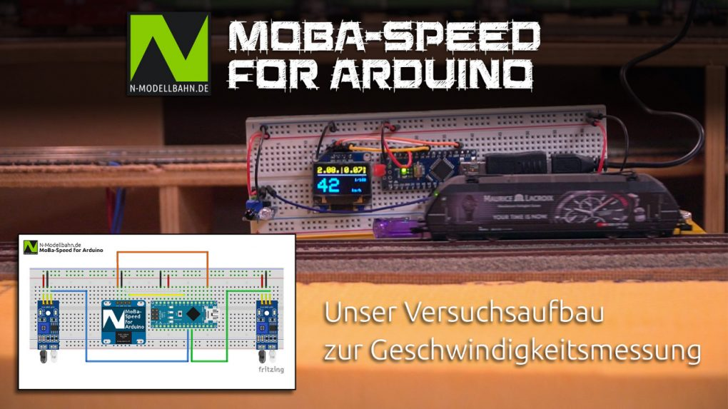 MoBa-Speed Versuchsaufbau