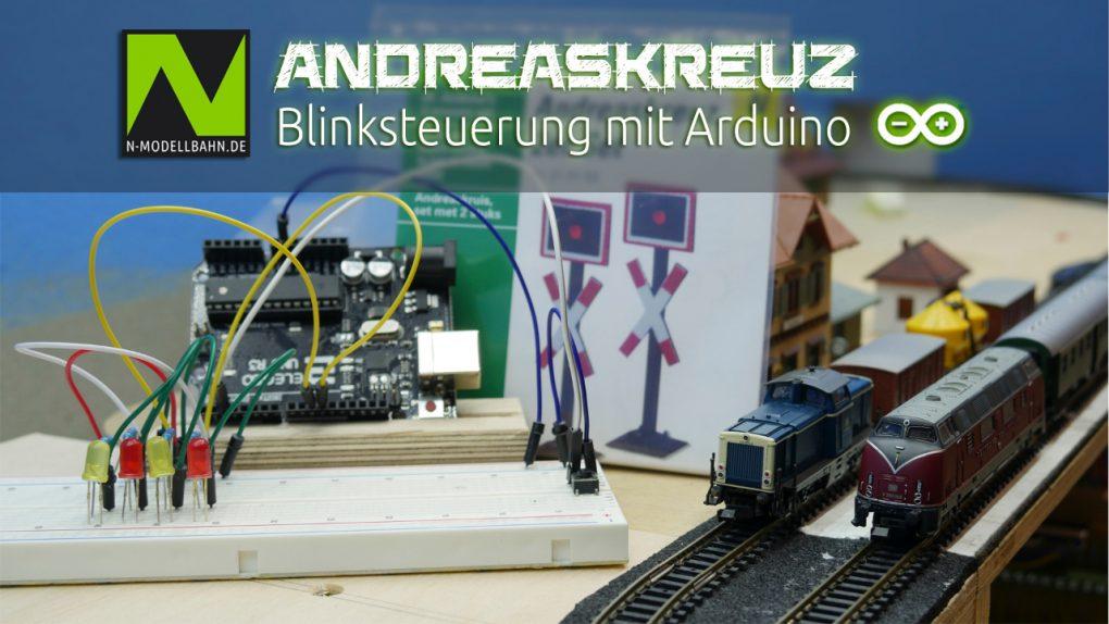 Andreaskreuzt Blinksteuerung mit Arduino